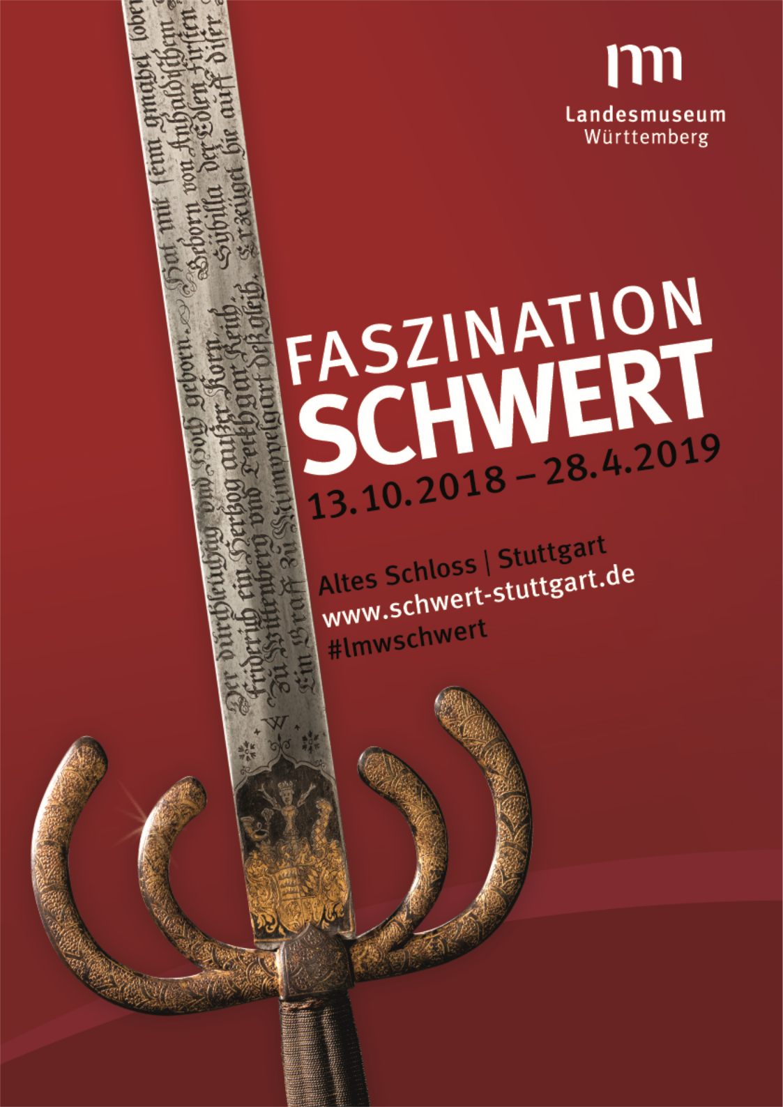 "The exhibition ""Fascination sword"" starts mid-October 2018."