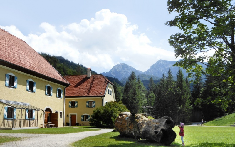 Woodcutter Museum in Ruhpolding